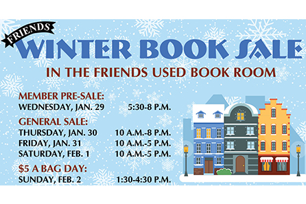 Friendswinterbooksale