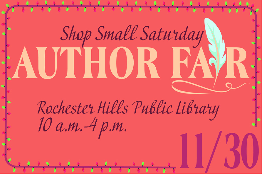 RHPL announces featured authors for first author fair