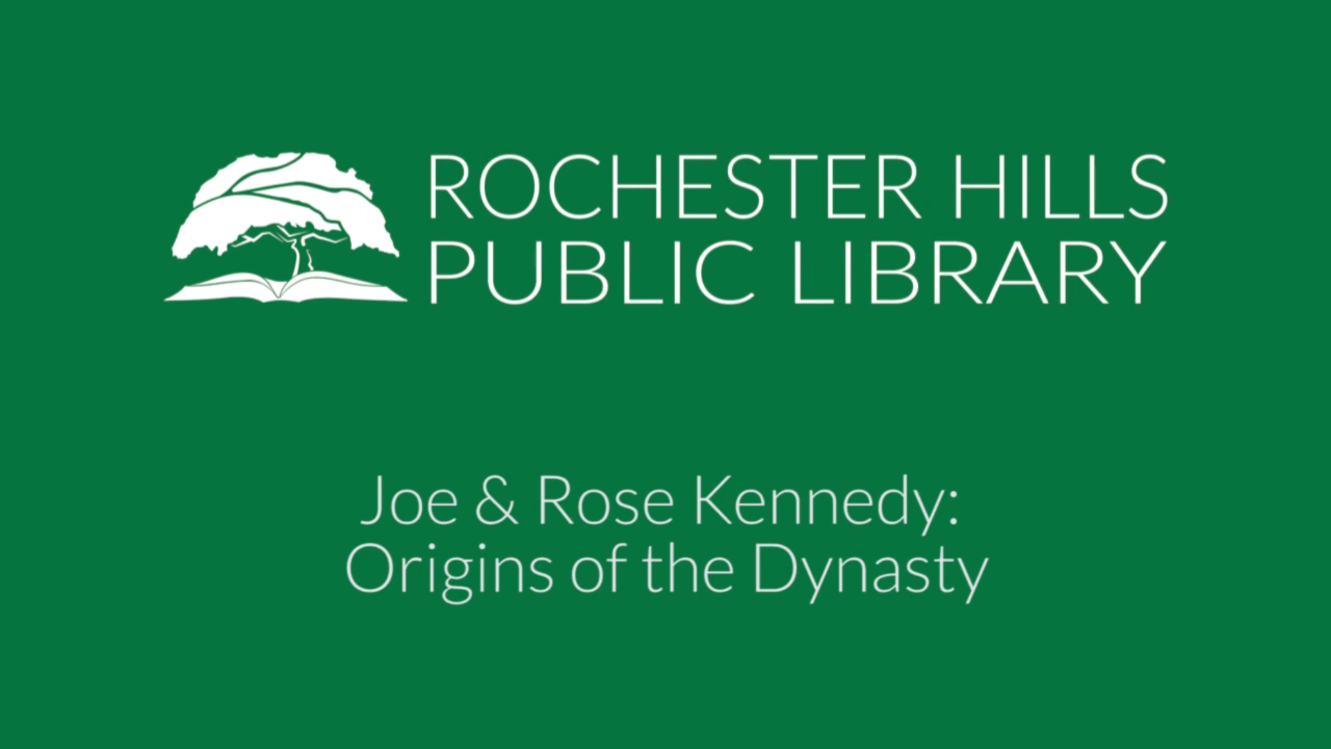 Joe & Rose Kennedy: Origins of the Dynasty