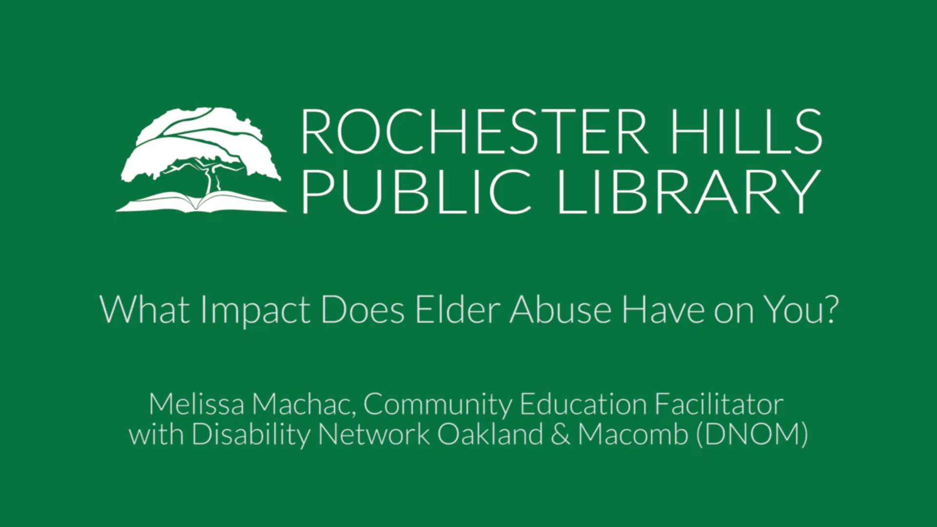 What Impact Does Elder Abuse Have on You?