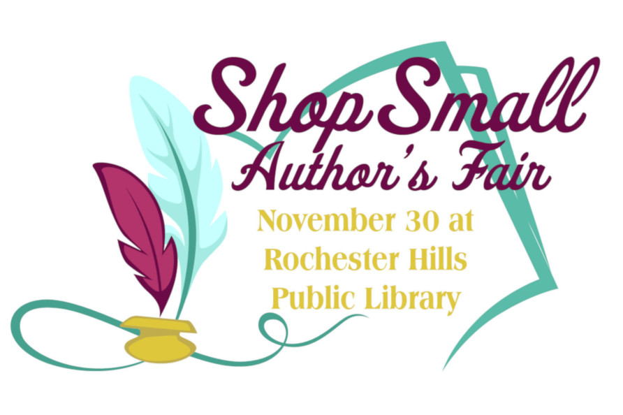 Shop Small Author's Fair November 30 at Rochester Hills Public Library